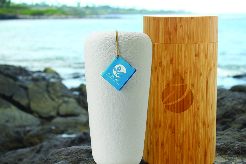 Water urne biodegradable